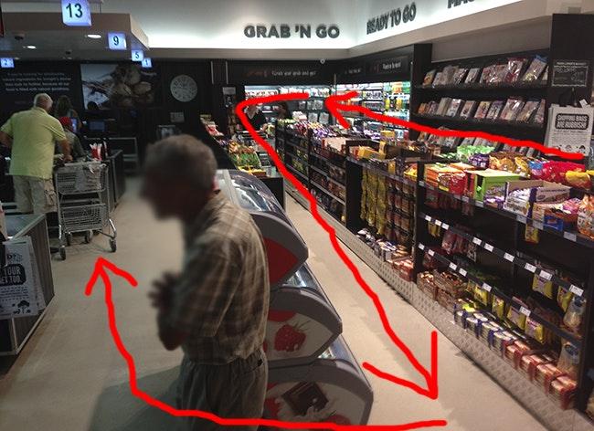 Ica butiken drog in storvinst det ar kaos