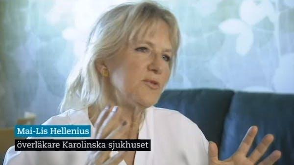 Utmärkt Rapportinslag där Hellénius hyllar LCHF!