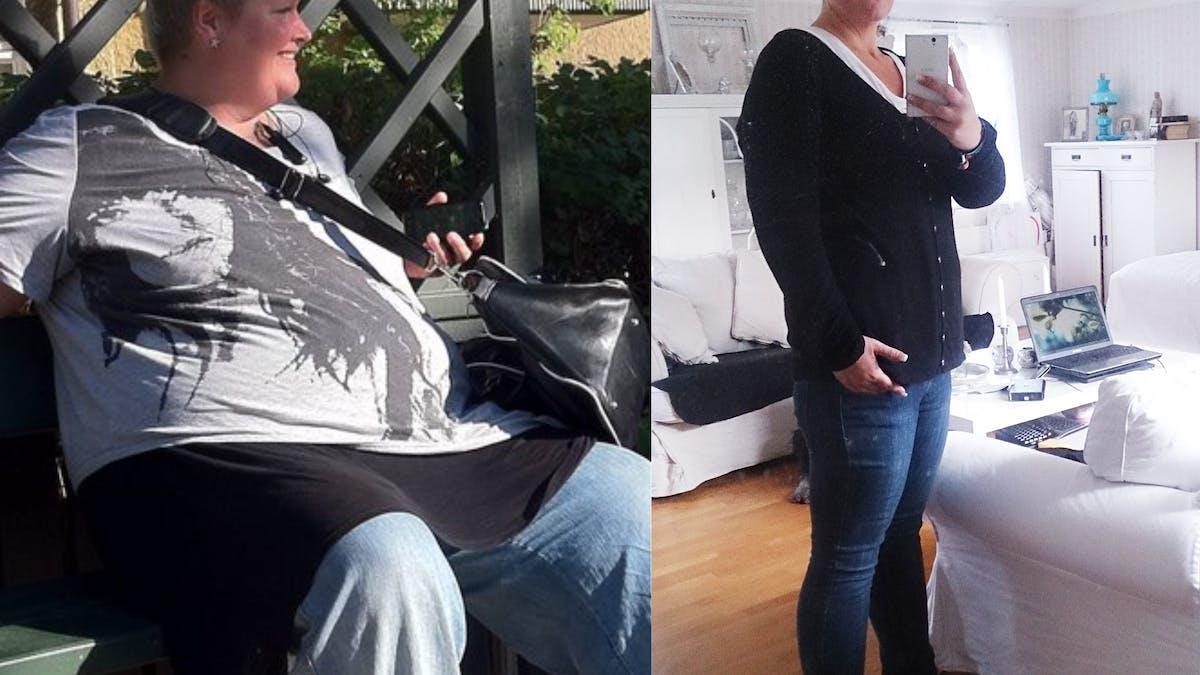 Att gå ner 100 kilo i vikt med LCHF