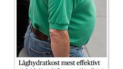 DN: Lågkolhydratkost effektivt för feta
