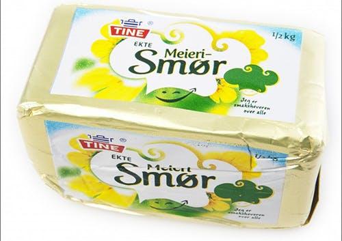 Även norskt smör reser i tiden!
