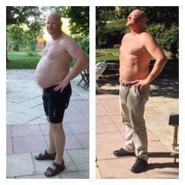 diet före efter