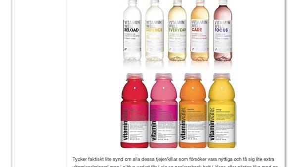 Före och efter Coca Cola-sponsringen