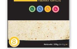 Den verkliga mängden kolhydrater i CarbZones tortillas
