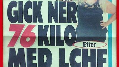 Expressens löp: Minus 76 kilo med LCHF