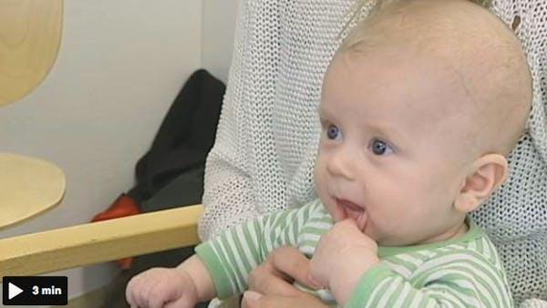 Barnfetma ska motverkas redan hos spädbarn