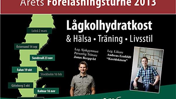 Föreläsningar om LCHF i Falun idag