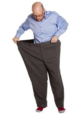 Åt fet mat – gick ner 90 kilo