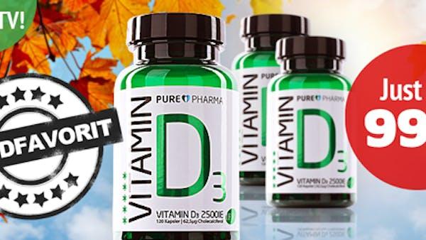 Sista chansen till rabatterat D-vitamin