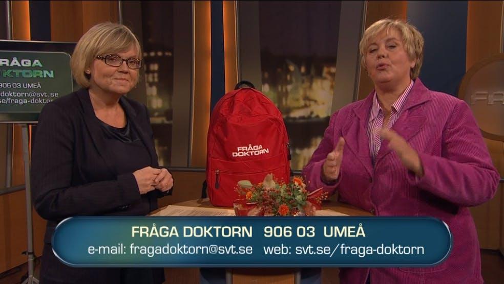 Hellenius och Rössner i Fråga Doktorn