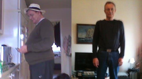 Minus 45 kilo på ett år med LCHF