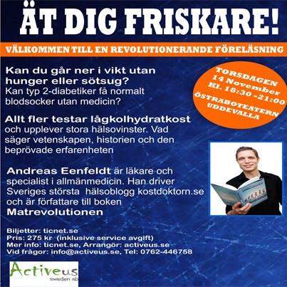 Årets sista föreläsningar: Uddevalla, Kalmar, Sundsvall!