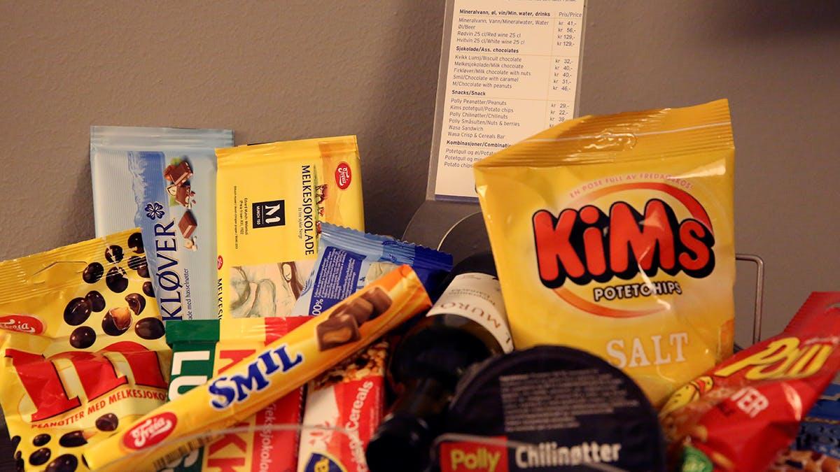 Sockerchock på hotellet i Oslo