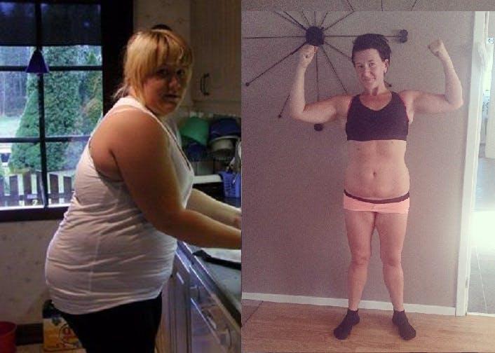 Minus 43 kilo på ett år med LCHF och periodisk fasta