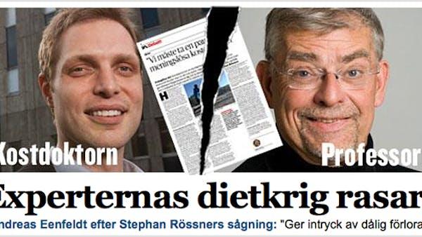 """""""Kostdoktorn i dietkrig med Stephan Rössner"""""""