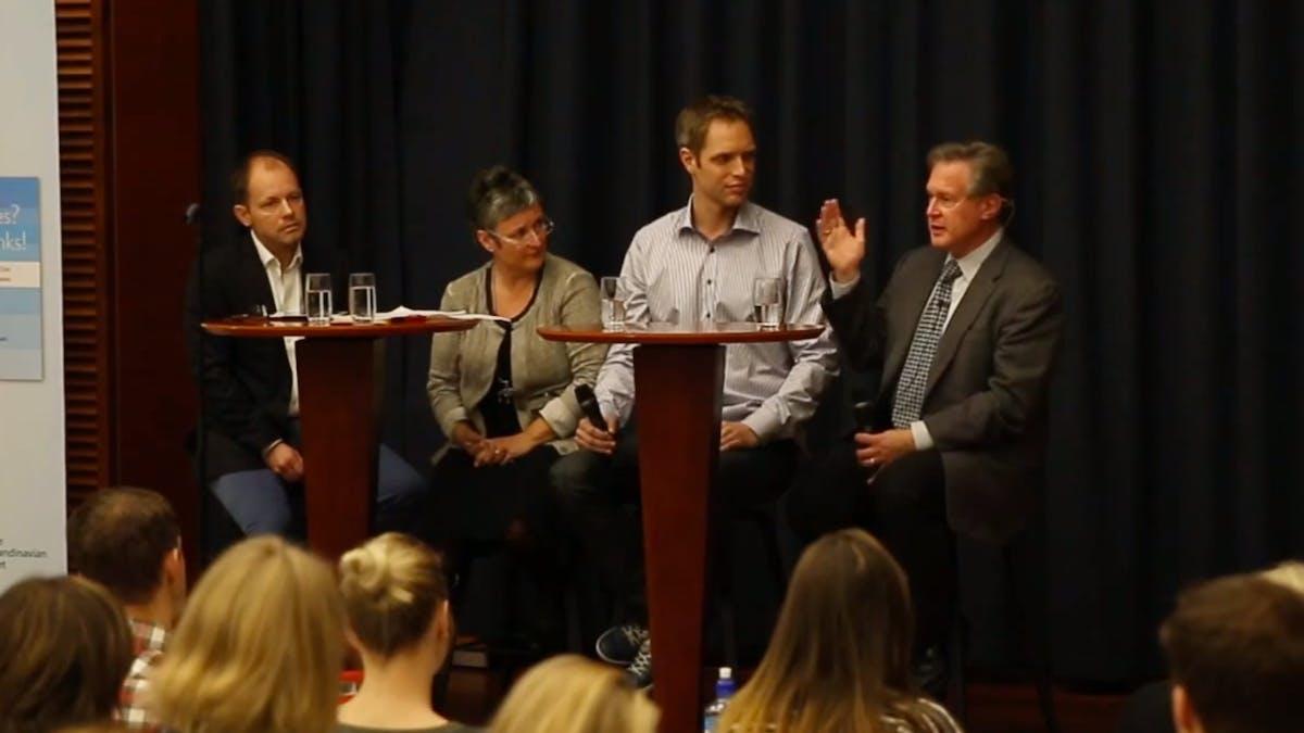 Paneldebatt om kampen mot socker