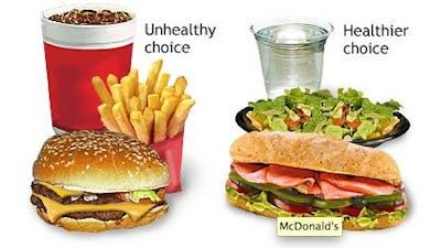 McDonalds: Ät inte vår mat, den är ohälsosam