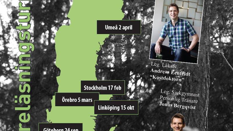 Kom på årets föreläsningsturné i Stockholm och fem andra städer!