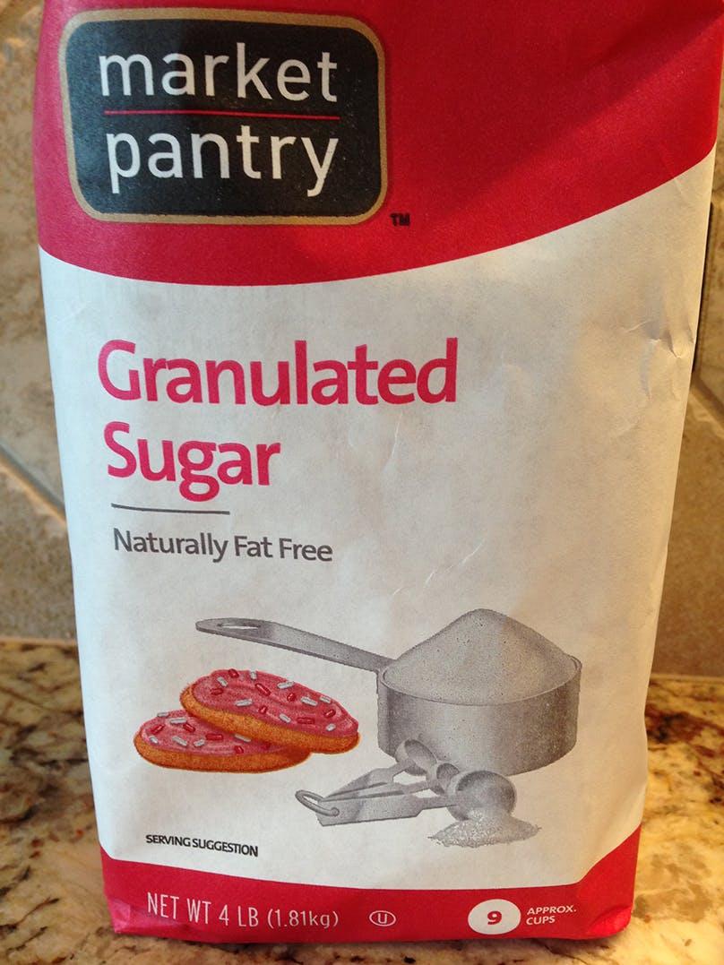 Fat free sugar