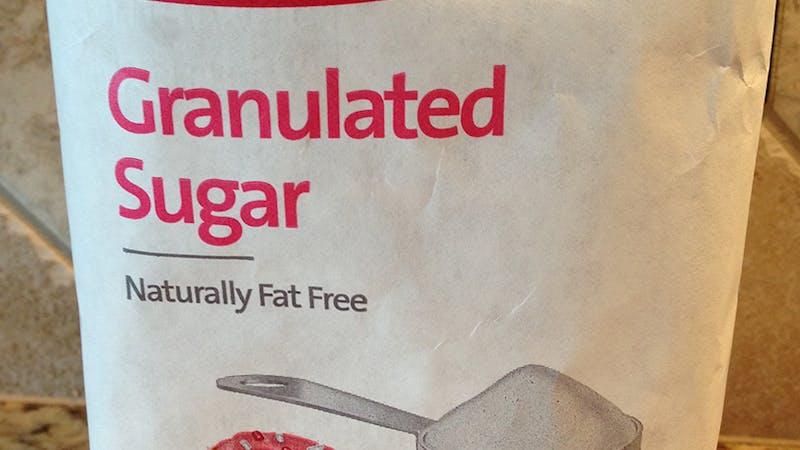 Naturligt fettfritt socker