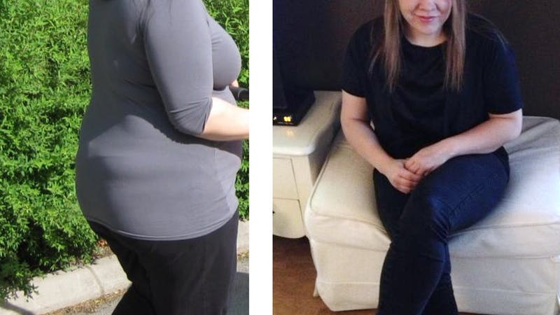 Hur man blir av med 42 graviditetskilon på ett år