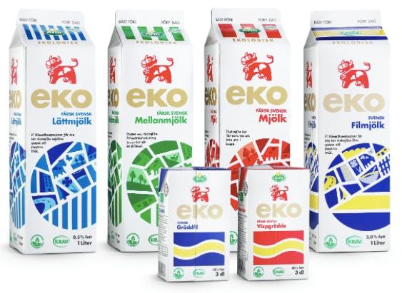 Ekomjölk rik källa till omega-3