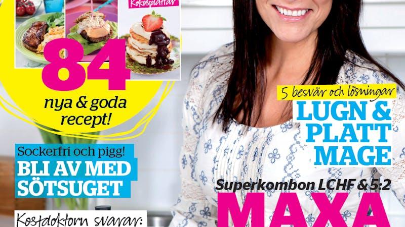 Nytt nummer av Sveriges största LCHF-magasin