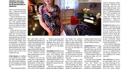 Positiva tidningsartiklar om LCHF och typ 1-diabetes!
