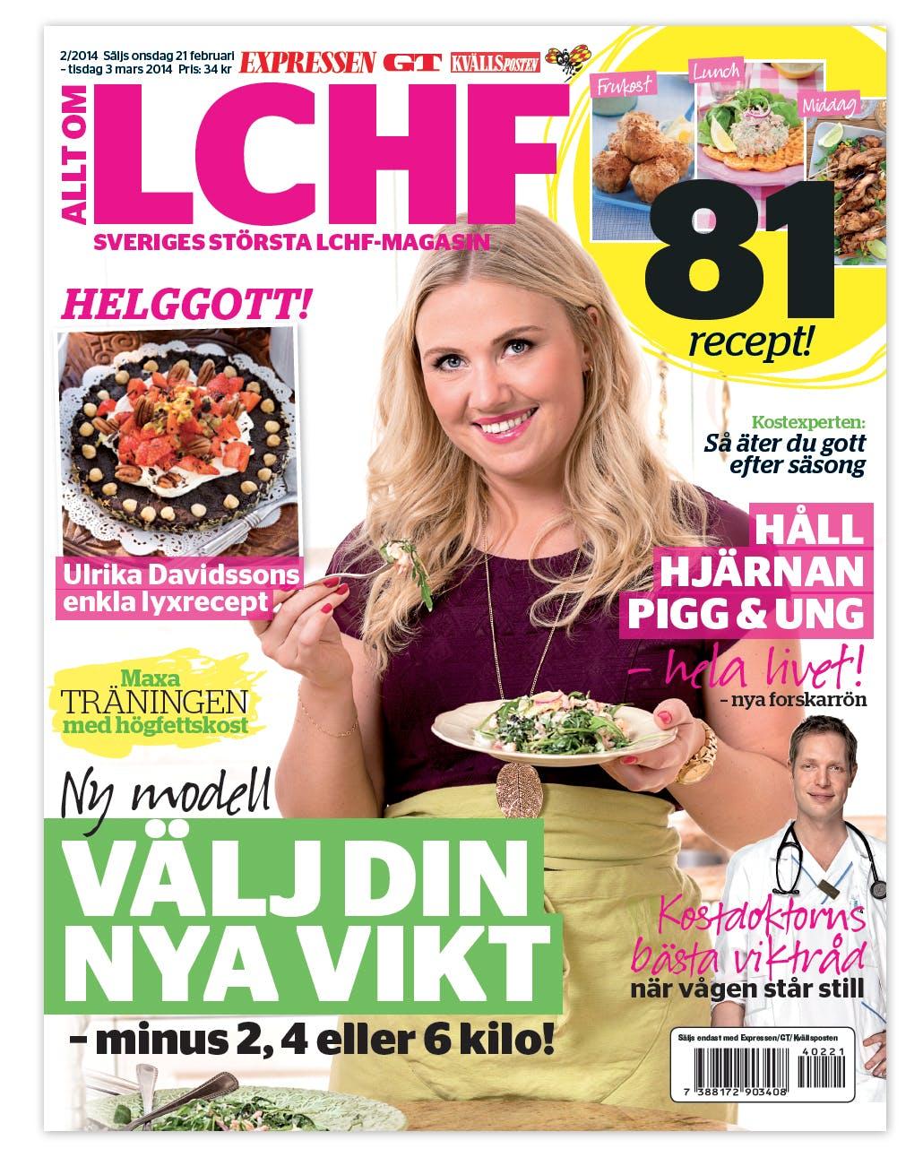 Extra miljövänlig LCHF i Expressens senaste bilaga