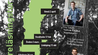 Inspirationsföreläsning i Stockholm på måndag