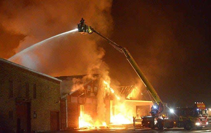38 000 ton socker brann upp