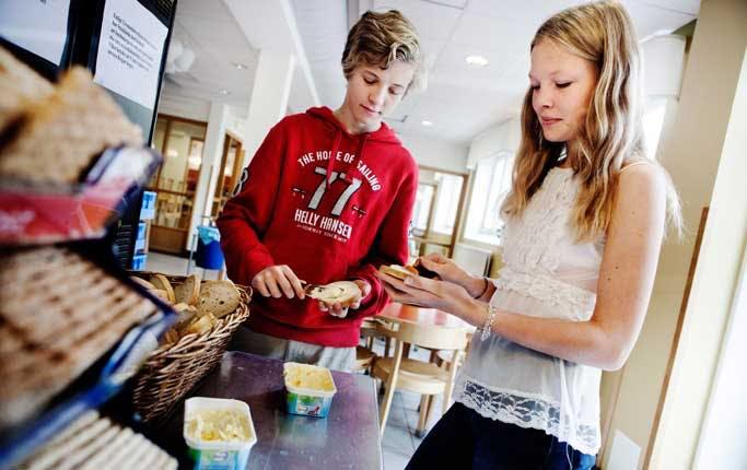 Hur man blir av med det mossiga tvånget på lättprodukter i skolan