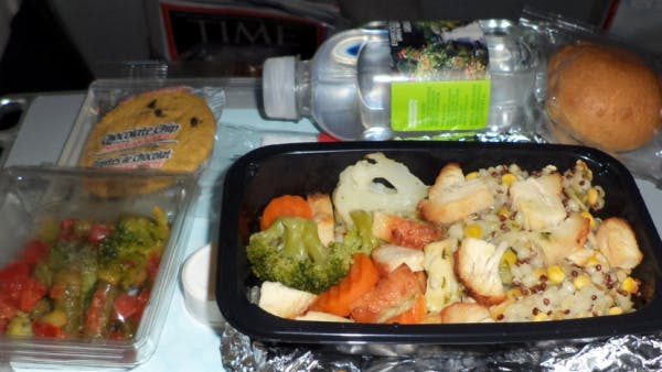 Diabeteskost på flygresa