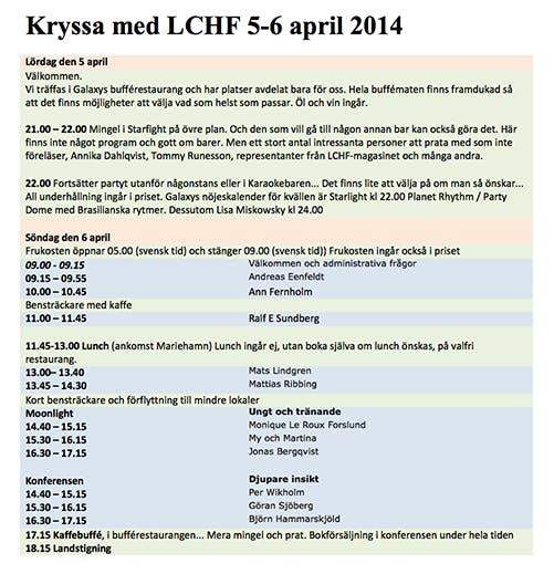 LCHF-kryssnign