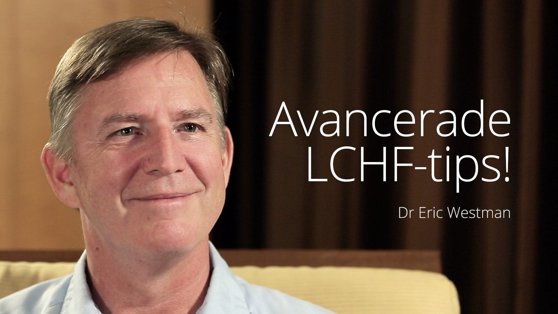 Dr Westmans LCHF-tips