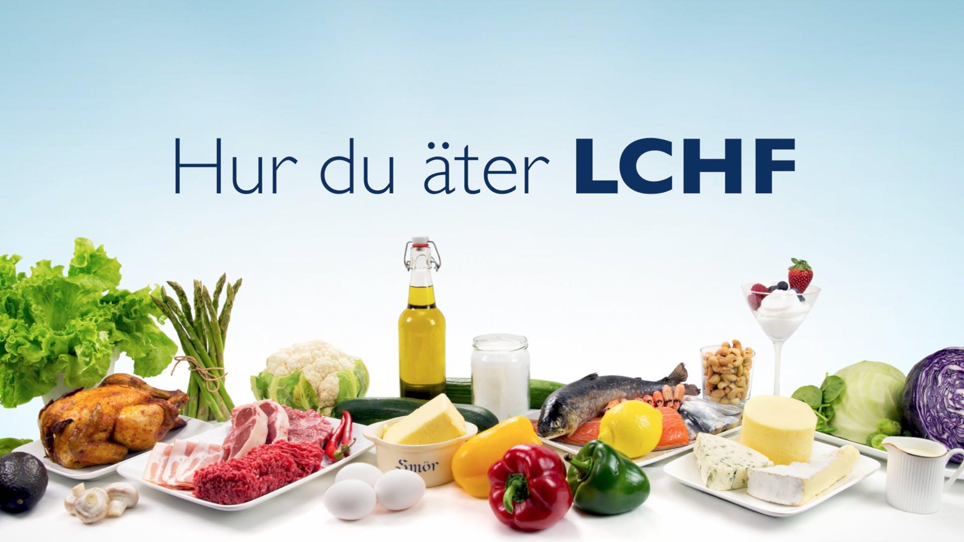 Hur du äter LCHF