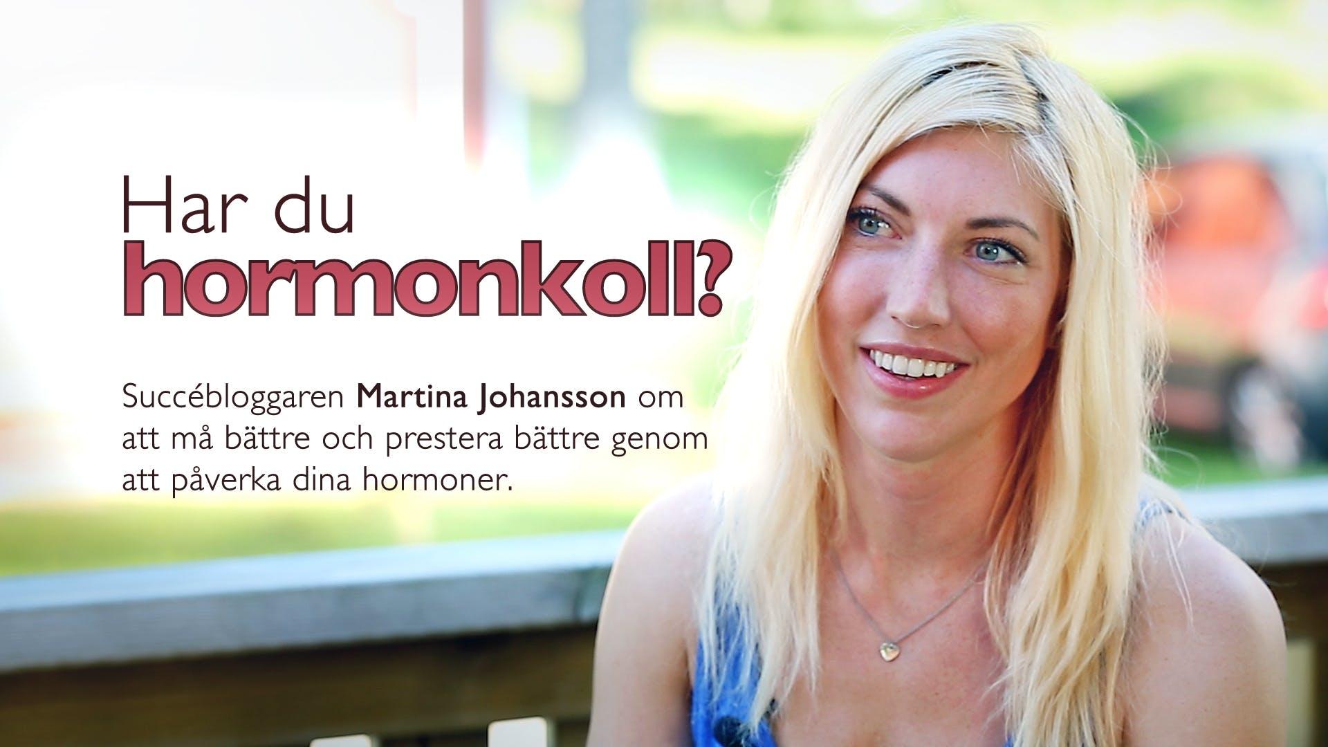 Hormonbibeln – intervju med Martina Johansson