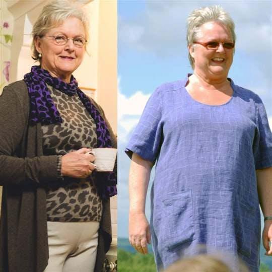 Marie åt sig fri från sin diabetes