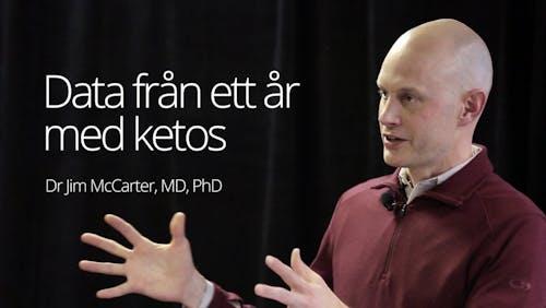 Data från ett år med ketos