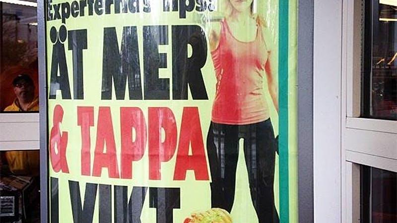 """""""Ät mer & tappa i vikt"""""""
