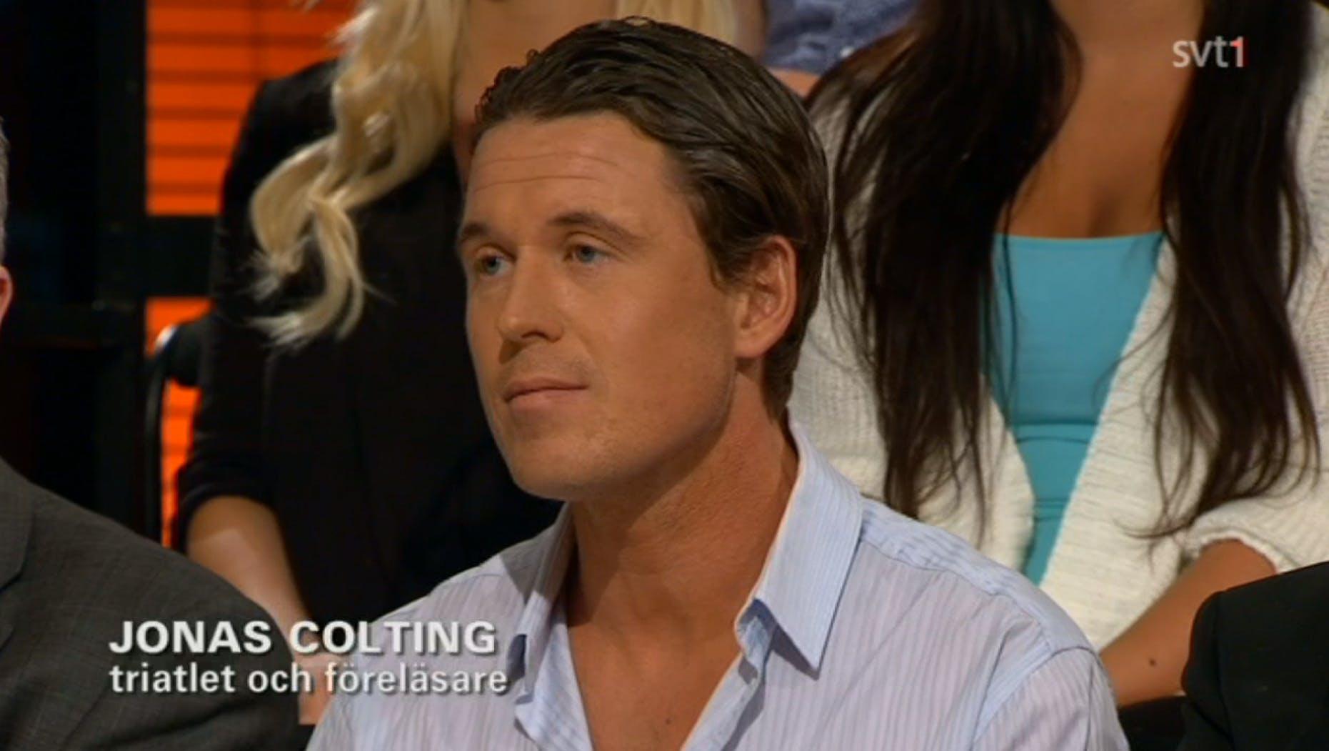 Jonas Colting i SVT Debatt om ortorexi
