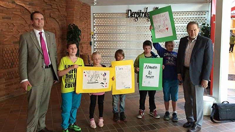 Dubbel smörseger för skolbarnen i Lerum och Forshaga!