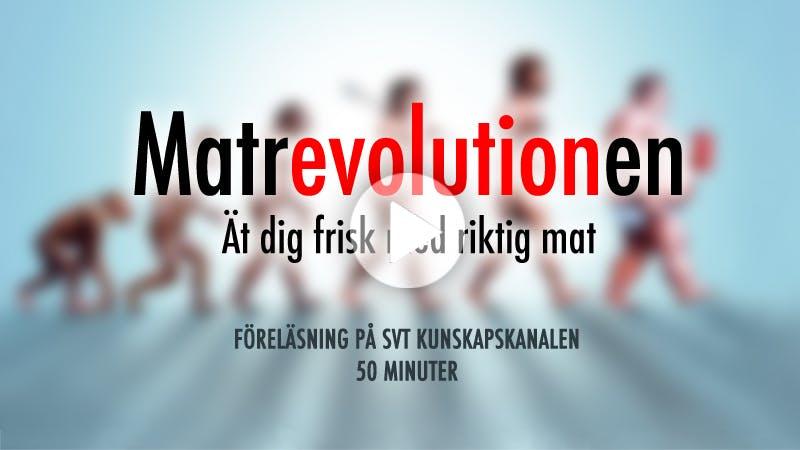 Kostdoktorn föreläser på SVT Kunskapskanalen