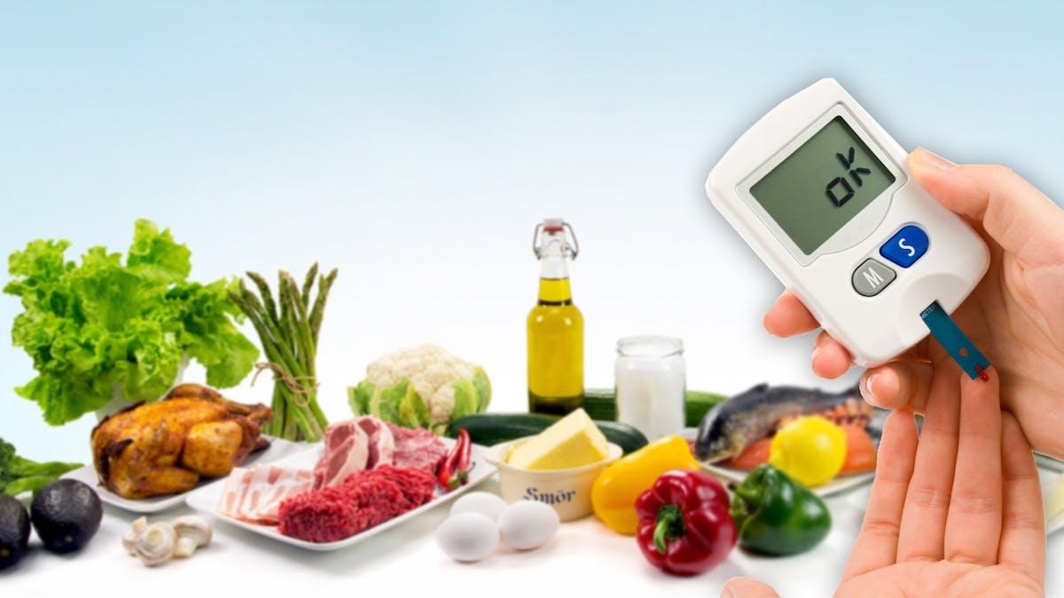 Forskare: Lågkolhydratkost bör vara förstahandsval för diabetiker!