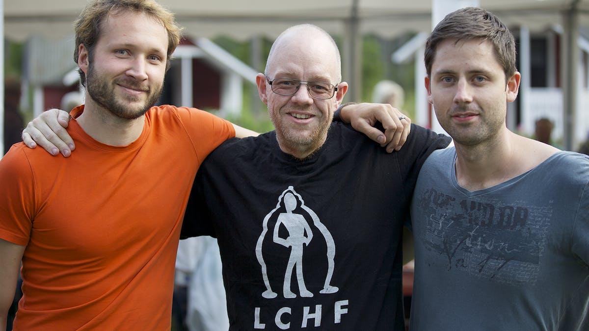 Bilder från LCHF-campingen