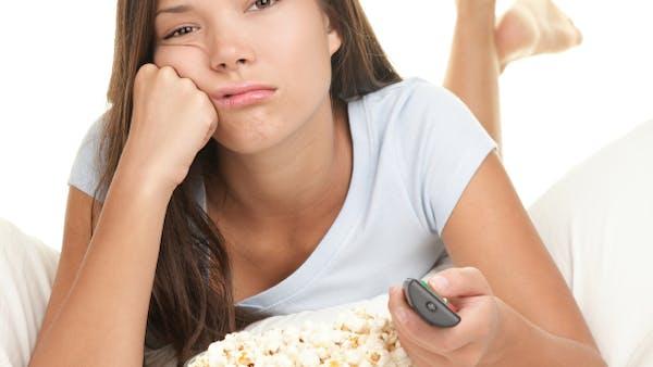 Tråkig TV kanske ökar risken för fetma