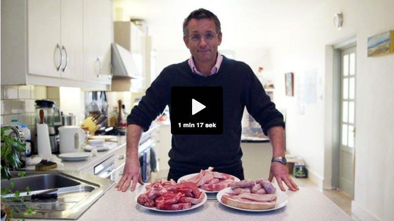 Sensationsjournalistik om kött i Vetenskapens Värld