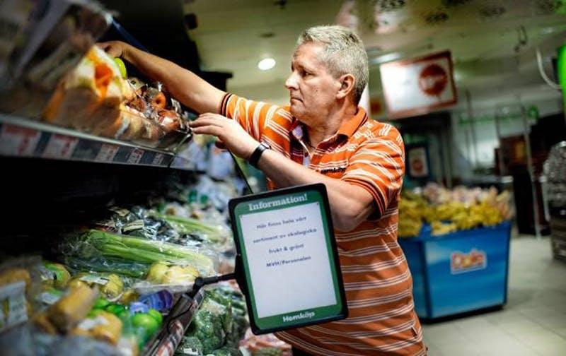 Rekordstor efterfrågan på ekologisk mat