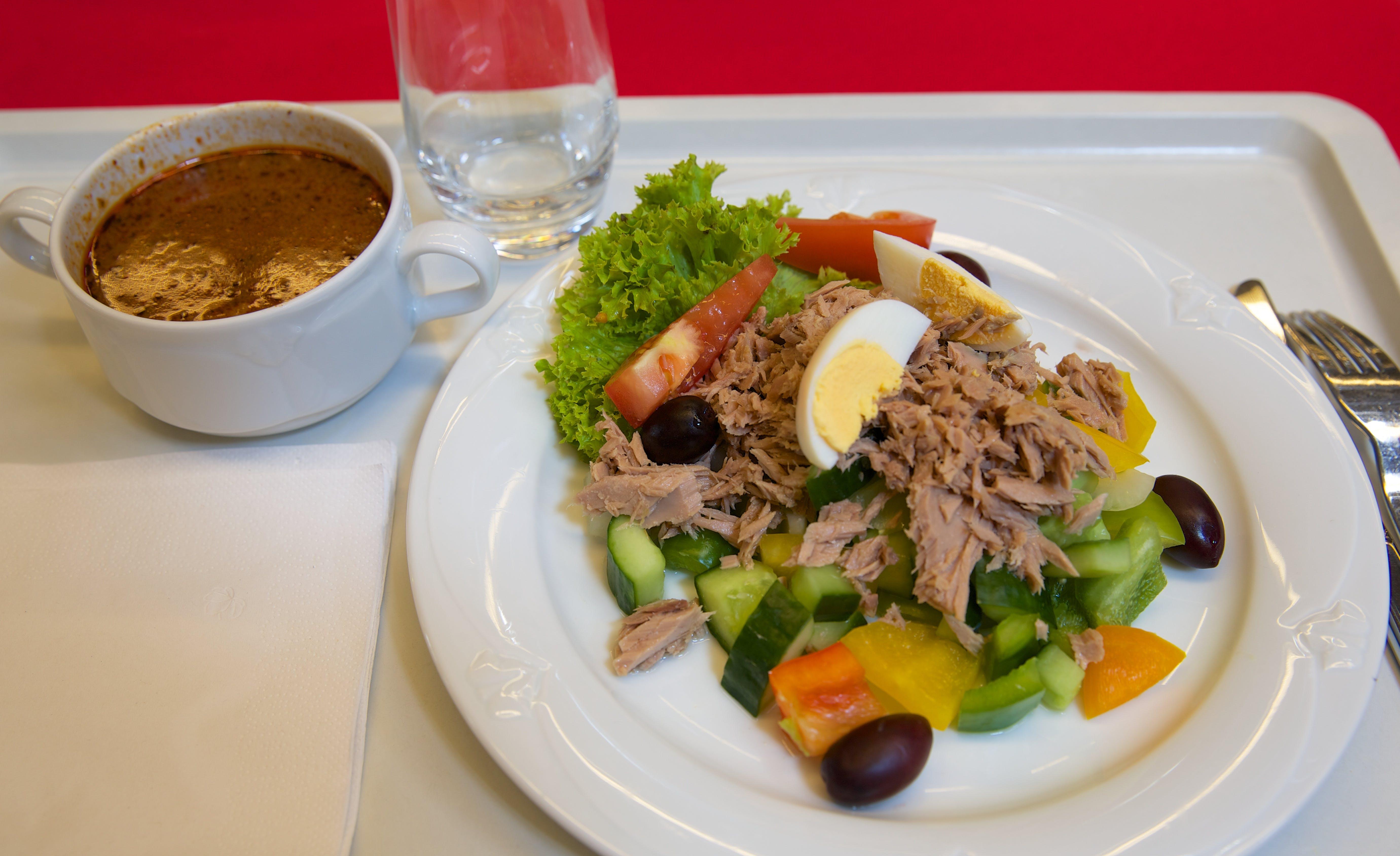 Ny lunch på diabeteskonferensen – och ett annat test