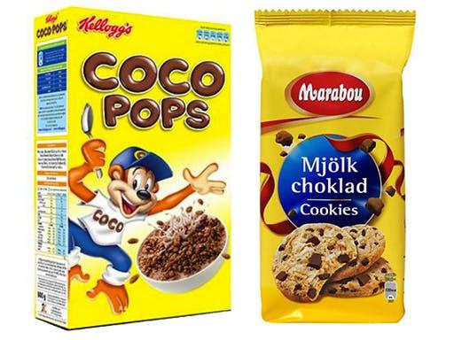 Vilken innehåller mest socker?